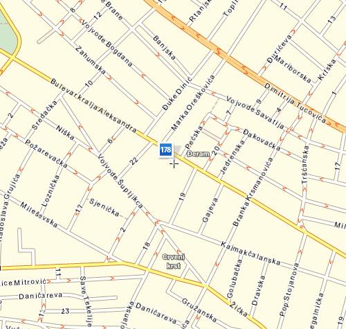 bulevar kralja aleksandra mapa Gde kupiti   Početna strana bulevar kralja aleksandra mapa
